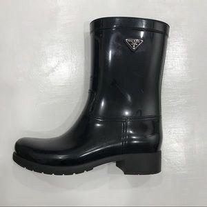 Prada Sport Rain Boots